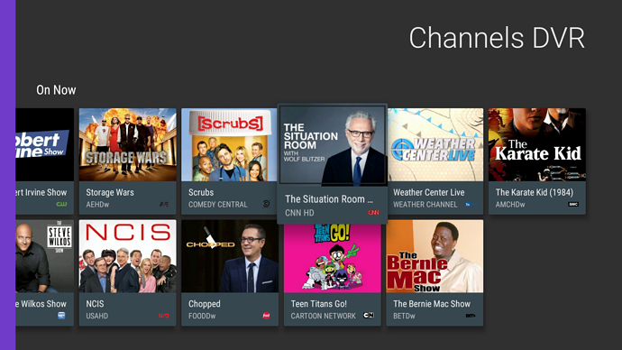 NEW: Android TV app for Channels DVR (experimental) - DVR Beta