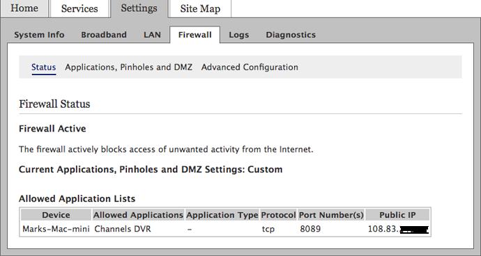 Remote Access Att Uverse Router - Channels DVR